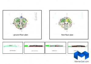 دانلود پلان اسایشگاه سالمندان (پایان نامه) - (www.memarcad.com)