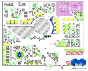 دانلود پلان درمانگاه به همراه تصاویر سه بعدی - (www.memarcad.com) (2)