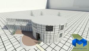 دانلود پلان درمانگاه به همراه تصاویر سه بعدی - (www.memarcad.com) (4)