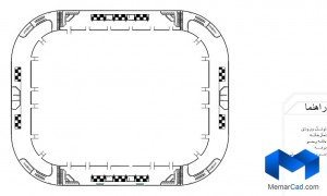 دانلود پلان استادیوم - کامل - (www.memarcad.com) (3)
