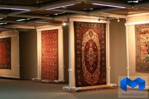دانلود پاورپوینت موزه فرش تهران - (www.memarcad.com)