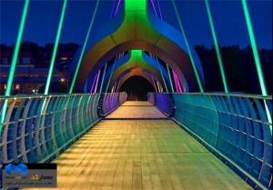 ارزیابی پل های عابرپیاده    (www.memarcad.com)