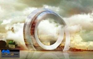 طرح مفهومی Windwheel 1-(www.memarcad.com)