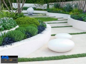 فضای سبز و منظر-(www.memarcad.com)